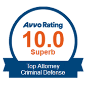 AVVO Top Criminal Defense Attorney