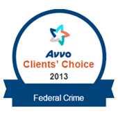 AVVO Client's Choice 2013 Federal Crimes